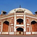 The Humayun Tomb in Saddi Dilli….
