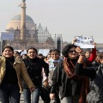 Protest at India Gate….